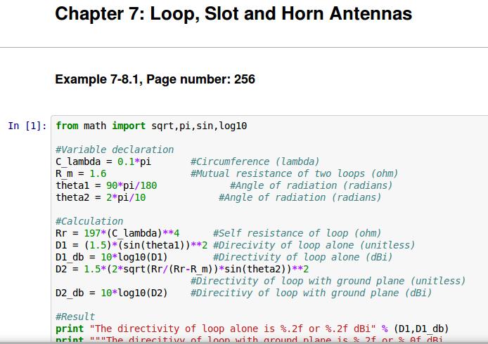 Python Textbook Companion Project | FOSSEE, IIT Bombay